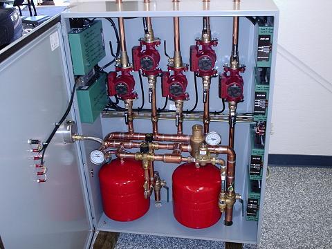 Modular Boiler Heating System