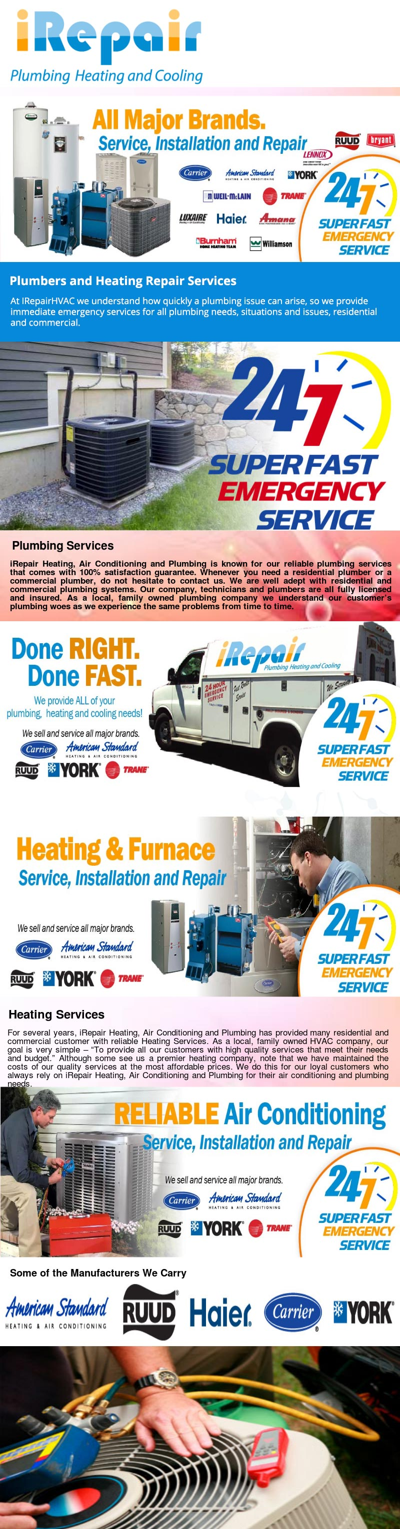 iRepair Plumbing Heating